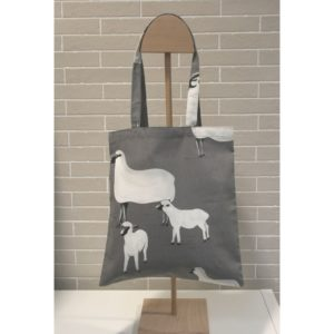 Tote bag Augustine compte les moutons
