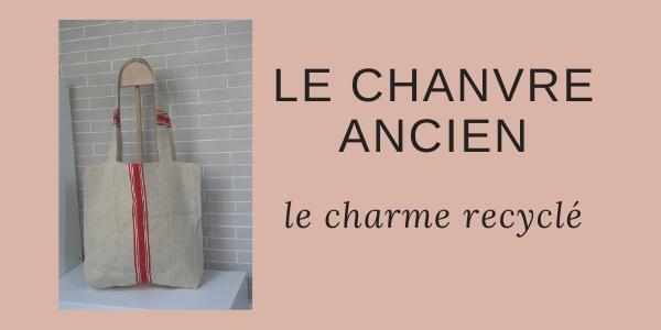 Du sac à grains en chanvre ancien à la création textile