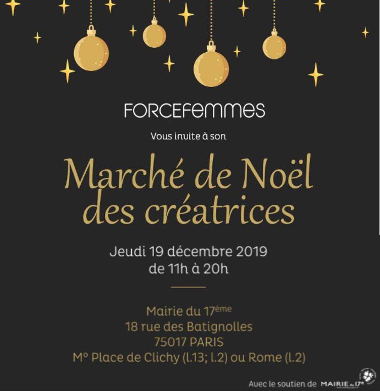 marché de noel force femmes 2019 paris lilimargotton