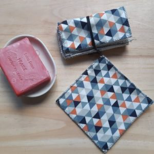 lingette coton réutilisable lavable zéro déchet lilimargotton