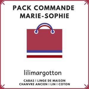 pack commande marie-sophie