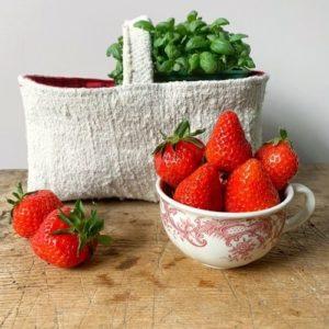 jardinière joséphine chanvre ancien blanchi