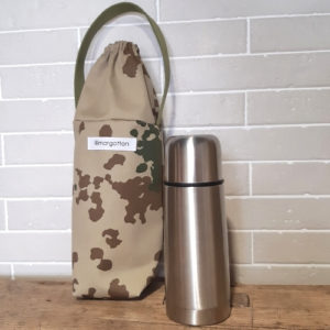 porte-gourde style camouflage militaire