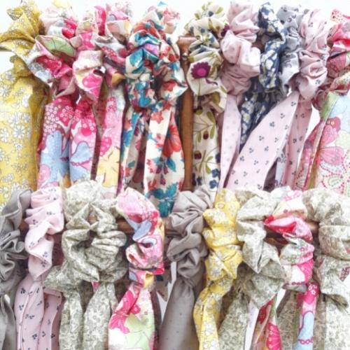 chouchou-foulard-liberty-rose-mauvey-lilimargotton